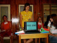 2009 Při presentaci projektů v angličtině lze využít i techniku