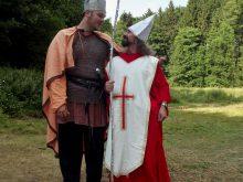 2013 Kníže Svatopluk s arcibiskupem Metodějem